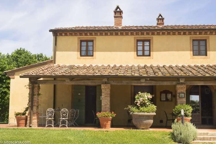 Feriehus med leiligheter i Toscana. Passer godt for familieferie og vennegrupper. Foto.